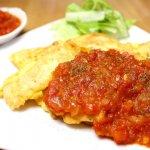 水郷どりのササミを使ったレシピ『鶏ささみのピカタ』