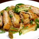 ■鶏肉レシピ■ 水郷どりの柚子胡椒餡かけ