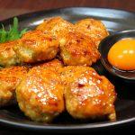 ■鶏肉レシピ■照り焼き鶏つくね[お弁当にもピッタリ♪]