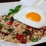 簡単で美味しい鶏ひき肉のガパオライスのレシピ 鶏肉専門店直伝の作り方