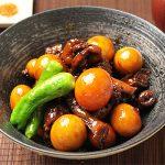 ■鶏肉レシピ■きんかんの鳥もつ煮 B級グルメで話題の煮込み料理です!