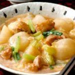 ■ 鶏肉レシピ ■水郷どりのかき玉スープ煮込み