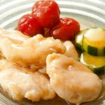 ■ 鶏肉レシピ ■水郷どりささみのくず煮