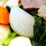 ■ 鶏肉レシピ ■鶏肉のつくねと大根のスープ