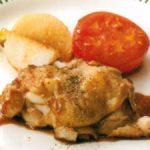 ■ 鶏肉レシピ ■水郷どりのにんにくステーキ