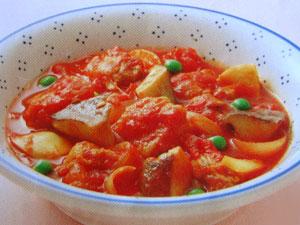 エリンギのトマト煮