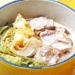 ■ 鶏肉レシピ ■鶏肉(もも肉)とキャベツのクリーム煮