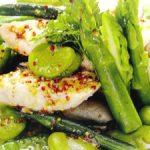 ■ 鶏肉レシピ ■水郷どりのささみと夏野菜のサッパリサラダ