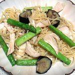 ■ 鶏肉レシピ ■水郷どりとアスパラのサッパリパスタ
