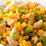 ■ 鶏肉レシピ ■水郷どりとトウモロコシの炒め物