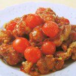 ■ 鶏肉レシピ ■ミニトマト入り酢鶏
