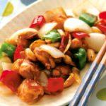 ■ 鶏肉レシピ ■水郷どりとピーナッツのピリ辛炒め