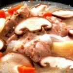 ■ 鶏肉レシピ ■水郷どりのマスタード煮込み
