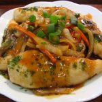 ■ 鶏肉レシピ ■揚げささみの五目あんかけ