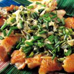 ■ 鶏肉レシピ ■鶏肉(もも肉)の塩焼きねぎソース