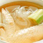 ■ 鶏肉レシピ ■水郷どり手羽先のレンジスープ