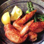 ■ 鶏肉レシピ ■鶏肉(水郷どり手羽先)の七味焼き