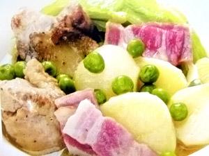 春野菜煮込み