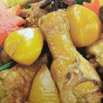 ■ 鶏肉レシピ ■水郷どり手羽元と栗のうま煮