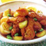 ■ 鶏肉レシピ ■水郷どりと卵の甘辛にんにく煮込み