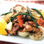 ■ 鶏肉レシピ ■水郷どりとたっぷり野菜のグリル
