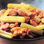 ■ 鶏肉レシピ ■水郷どりとふきの韓国風炒め煮