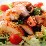 ■ 鶏肉レシピ ■水郷どりから揚げの黒酢ソース