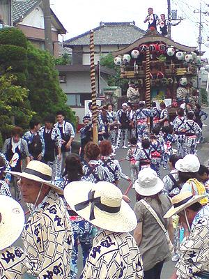 小見川祇園祭 お祭りの賑わい