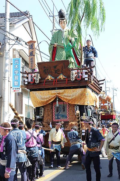 佐原の大祭 2013年の山車