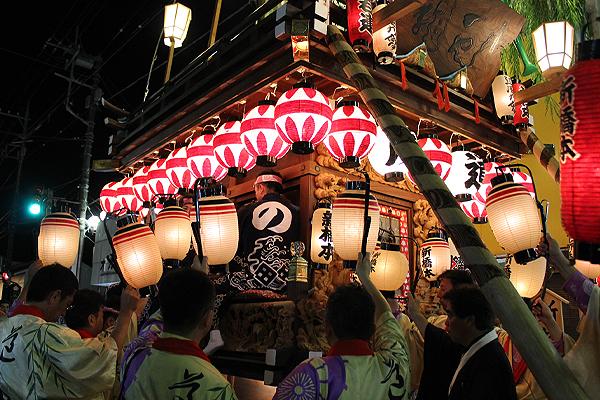 佐原の大祭 2013年 夜の情景