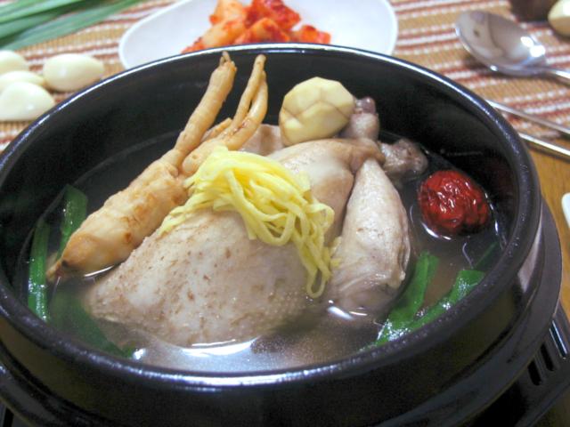 参鶏湯 食べ方 土鍋