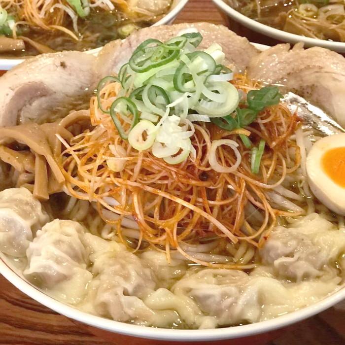 ワンタンチャーシュー麺