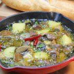 簡単料理 砂肝のアヒージョの作り方 マッシュルーム入りで美味しいレシピ