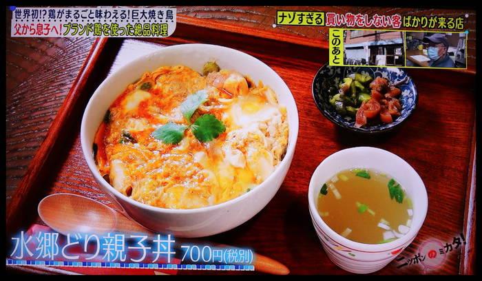 たけしのニッポンのミカタ! 水郷のとりやさん 特集 イートインの親子丼