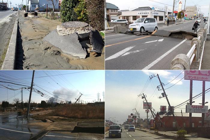 東日本大震災 当時の様子