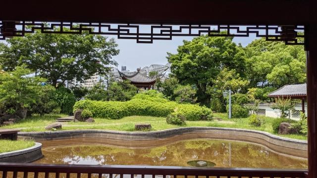 四川風の庭園
